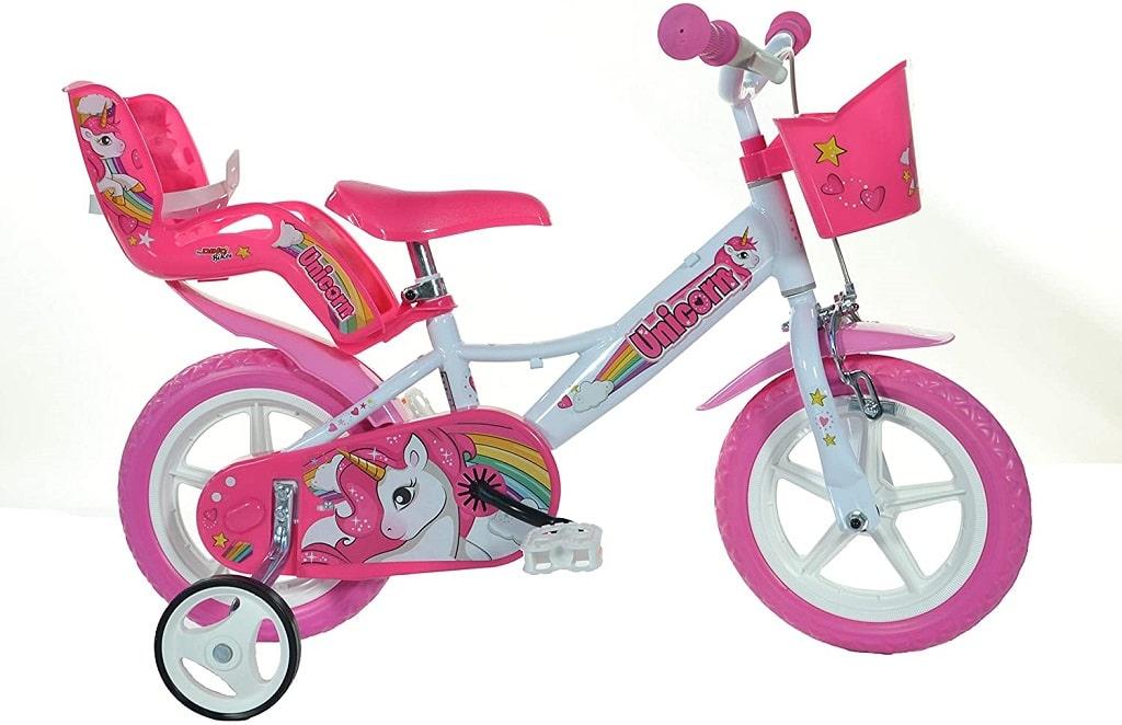 dino bikes einhorn 12 zoll kinderfahrrad