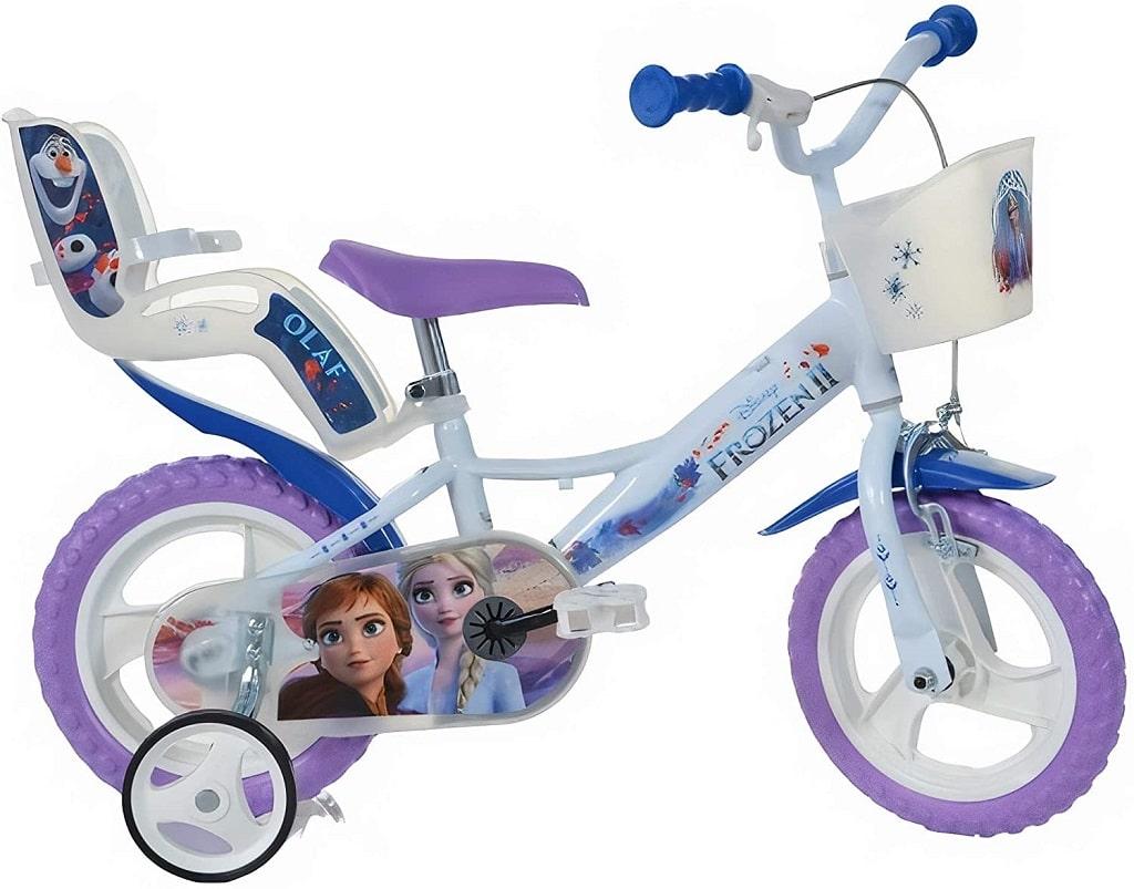 dino bikes frozen eiskönigin 14 zoll